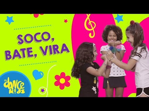 Soco, Bate, Vira - Xuxa | FitDance Kids (Coreografía) Dance Video