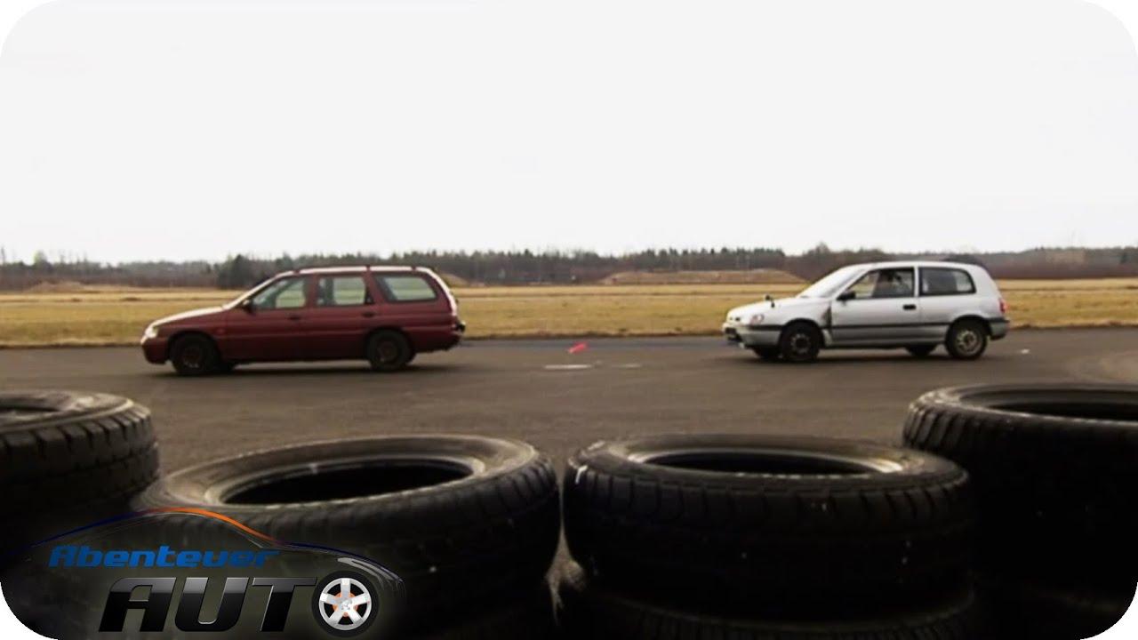 Abschleppen extrem: Seil vs. Stange 1/2 - Abenteuer Auto