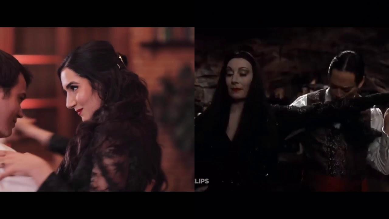 Saf & Tyler Wedding Dance  Morticia And Gomez Tango - YouTube
