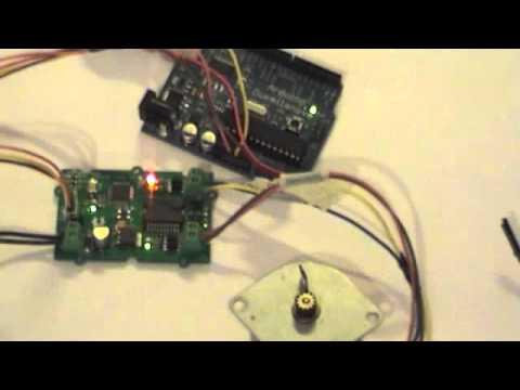 Twig I2c Motor Shield Arduino Library Youtube
