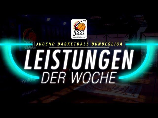JBBL - Leistungen der Woche 2019/20 - Haupt- und Relegationsrunde 3