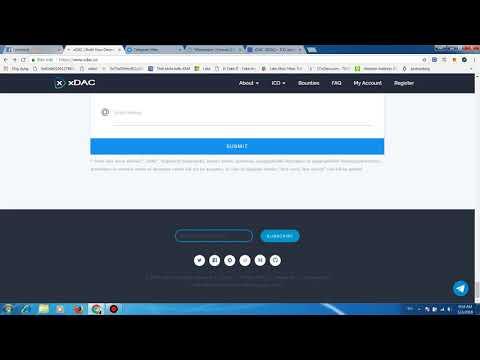 New platform, new ico : xdac