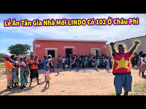 Quanglinhvlogs || Bất Ngờ Với Lễ Ăn Tân Gia Nhà Mới LINDO Theo Phong Tục Ở Châu Phi