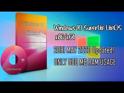 The Best Windows 10 Lite Edition | LiteOS 20H1 (2004) Build | X86/x64 | 500MB RAM Usage!! | MAY 2020