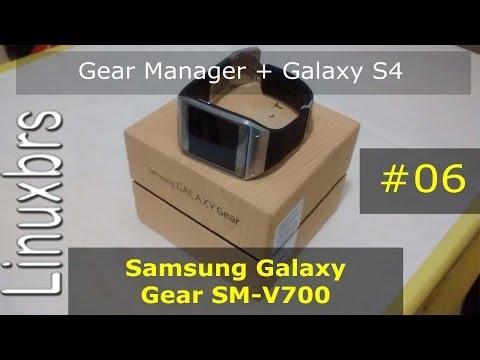 Samsung Galaxy Gear Gear Manager Galaxy S4