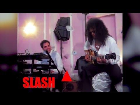 INÉDITO – SLASH tocando en una BODA el PADRINO (Cuando tienes MUCHO DINERO) .