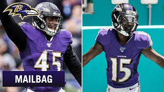 Expectations for Rookies in First Playoff Game | Ravens Mailbag