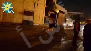 انفراد بالفيديو: لحظة فتح شارع القصر العيني بعد ثبوت سلبية بلاغ أتوبيس مجلس الشوري