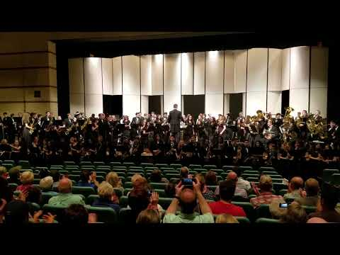 2018 Spring Concert - Combined Bands
