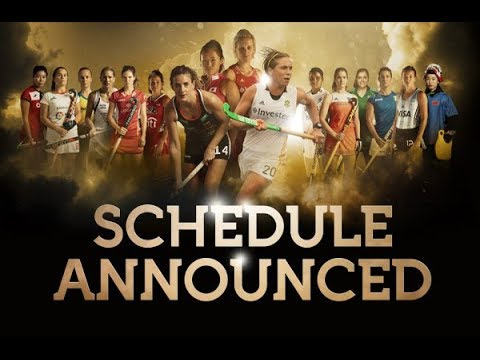 Vitality Hockey Women's World Cup schedule