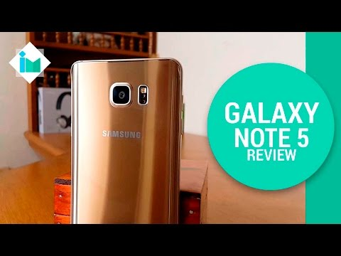 Samsung Galaxy Note 5 - Review en español