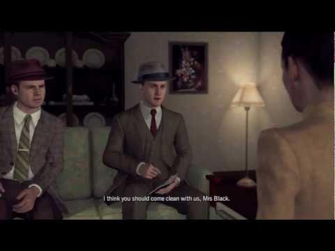 L.A. Noire Interview Guide | The Driver's Seat (Nate Williams, Margaret Black, Frank Morgan)