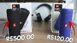 JBL Flip 3 primeira linha por APENAS R$120! É melhor que a original?