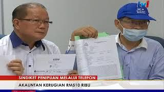 Gambar cover AKAUNTAN RUGI RM500 RIBU DITIPU SINDIKET 'MACAU SCAM' [19 OKT 2017]