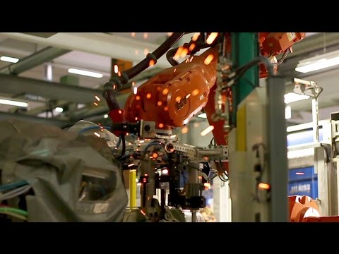 ABB Robotics - Building car parts in seconds