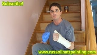 Diy Refinish & Paint Hardwood Stairs That Were Carpeted, Stained, & Varnished (part 1) Risers