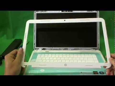 Процедура замены экрана ноутбука HP Pavilion G6