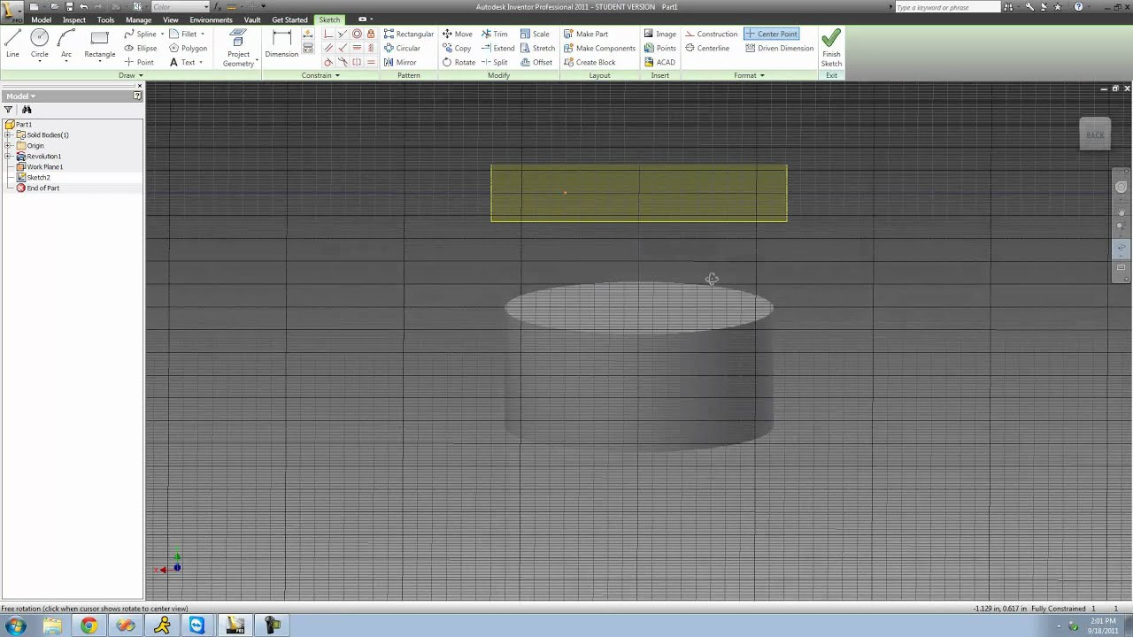 inventor plane tutorial with Watch on Thread for Screw Tutorial additionally Autodesk Inventor Beginners Tutorial Extruding A Simple Cube moreover 37315 Adding Blood On The Ground as well Revovle  mand Solidworks 2015 Tutorial as well Inventor Simulation Rdm Flexion Poutre.