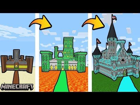 ZAMEK NOOB Vs ZAMEK PRO - Minecraft