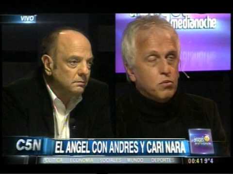 C5N - EL ANGEL DE LA MEDIANOCHE CON ANDRES Y CARI NARA