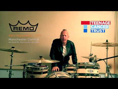 REMO and THE TEENAGE CANCER TRUST DRUMMER NIGHT 2017 SIMON HANSON VLOG