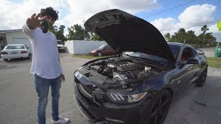 Driving A Procharged S550