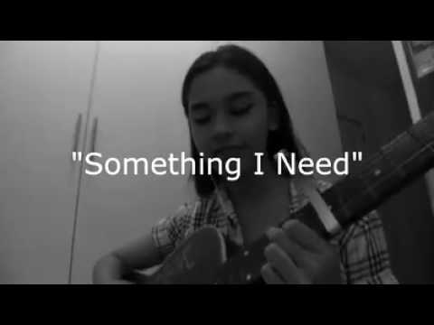 Something I Need by One Republic (Cover) Raphiel Shannon