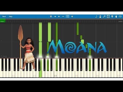 How Far I'll Go - Disney's Moana (Piano Tutorial) thumbnail