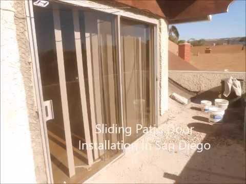 Sliding Patio Door Installation