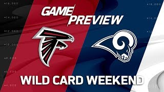 Atlanta Falcons vs. Los Angeles Rams | NFL Wild Card Weekend Game Preview | Move the Sticks