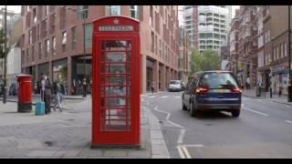 Red Phone Box in London Free Stock Video Footage Download Clips