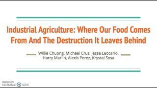 Topic Summary - Sustainability