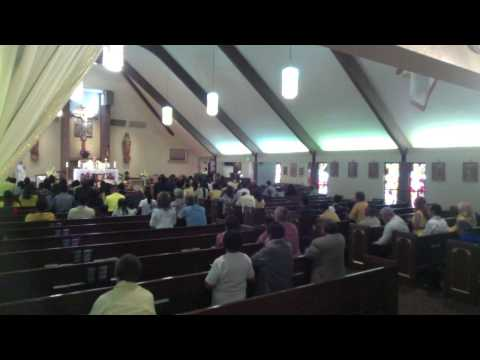 Mommy Char's Funeral Mass 2015