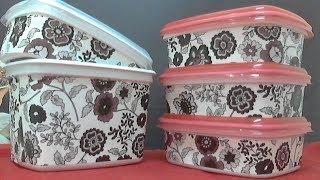 Kit de Potes de margarina fácil de fazer