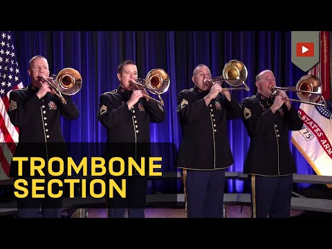 The Star-Spangled Banner- Trombone section of The U.S. Army Field Band