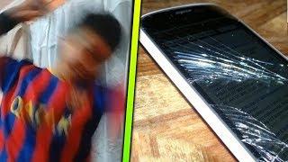 ESTOS NIÑOS DESTROZARON su TELÉFONO MÓVIL BRUTALMENTE y FUERON GRABADOS !!