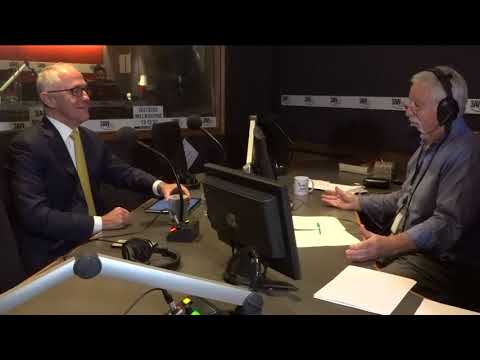 Full interview: Malcolm Turnbull in the studio with Neil Mitchell