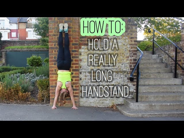The Secret To Holding a Handstand...