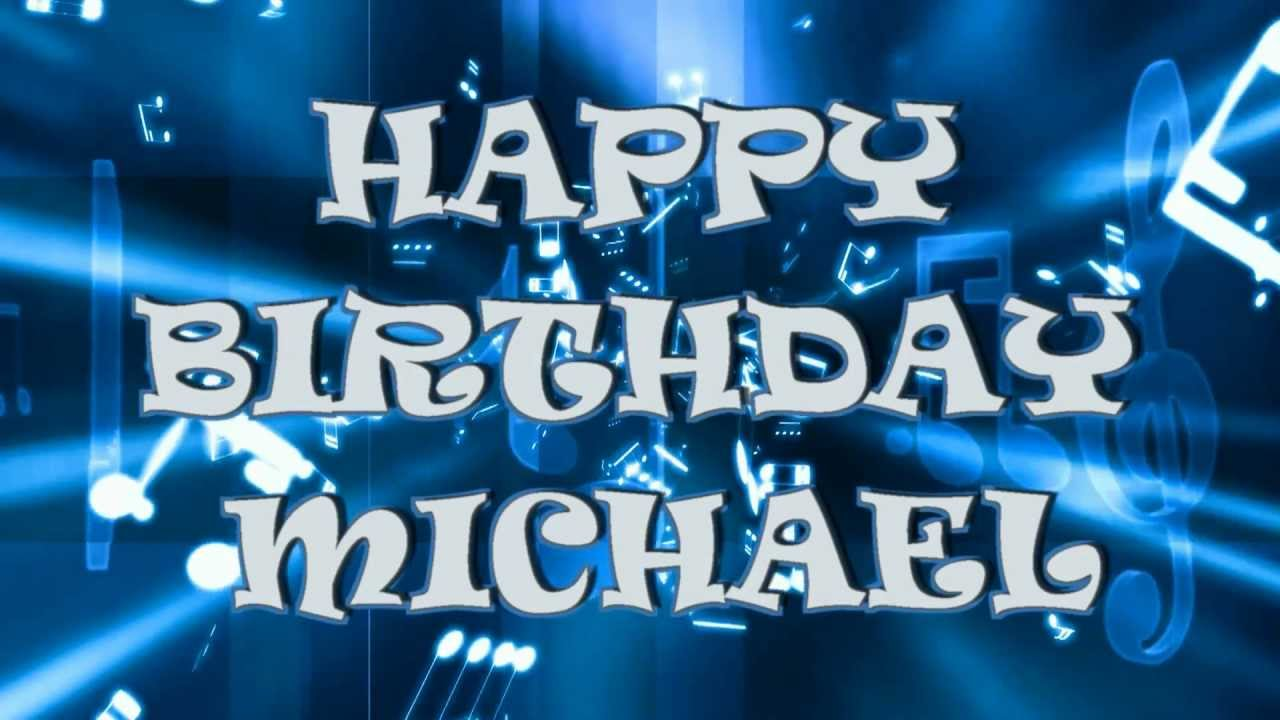 Happy Birthday Michael Cake Images