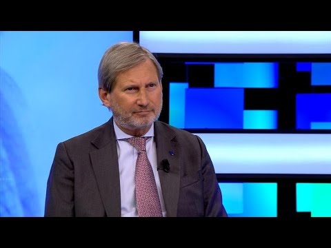EU Commissioner Johannes Hahn: 'Either we import stability, or we export instability'