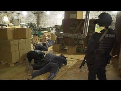 В Рязанской области полицейские пресекли производство немаркированной табачной продукции