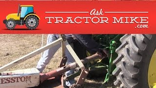 How to Take a Brush Hog off a Tractor