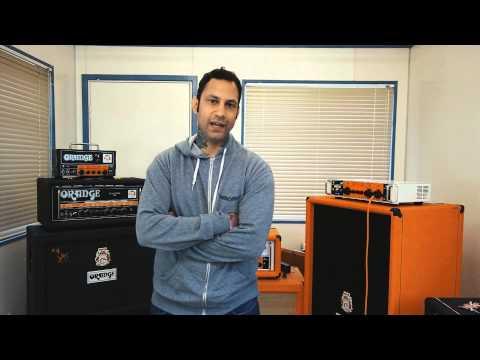 Joseph Principe (Rise Against) Demos the Orange OB1-500 Bass Amp