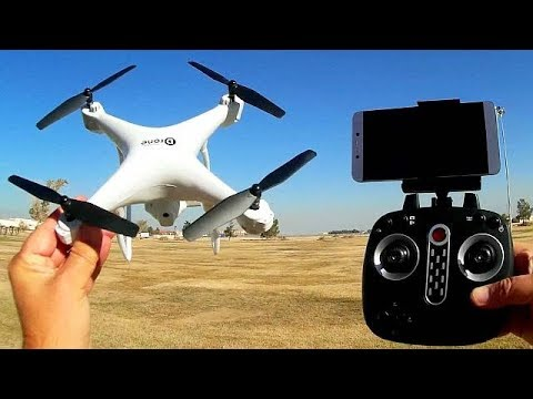 LH X25SWF FPV Camera Drone with Gimbal Flight Test Review