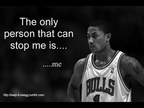 """best Motivational ever with Derrick Rose – """"Why can't I be MVP of the league?""""- sottotoli italiano –"""