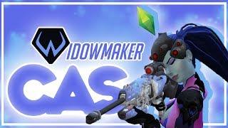 ♡ The Sims 4 CAS | Overwatch: Widowmaker + Full CC List ♡