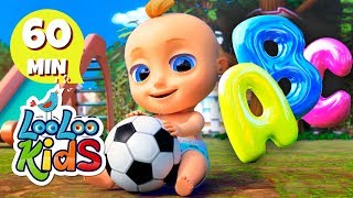 🅰Phonics Song -💛 Alphabet songs for Children   LooLoo Kids
