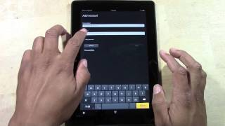 Kindle Fire HDX (8.9) - How to Add an Email Account (Gmail, AOL, Yahoo, Hotmail, etc)