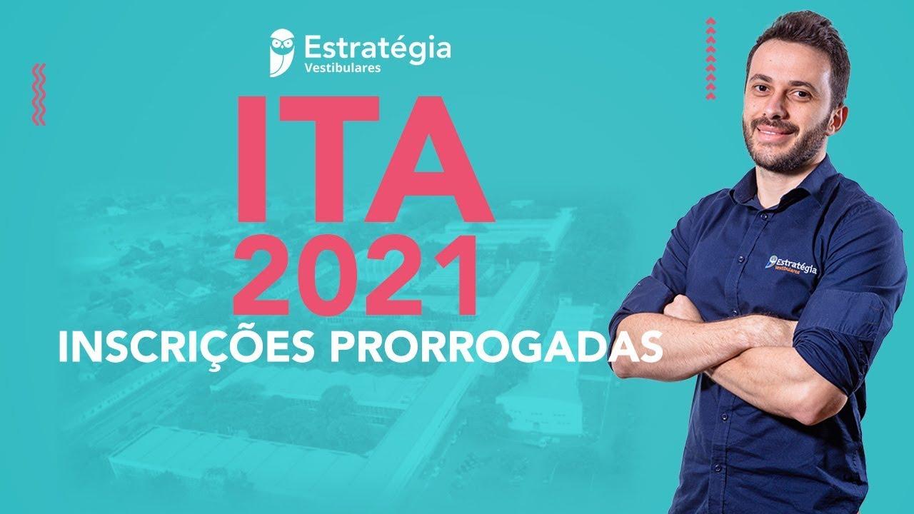 ITA - Inscrições Prorrogadas