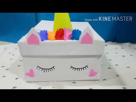 How to reuse shoes box,|| DIY || Best out of waste || shoes craft